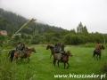STADNINY KONI w Bieszczadach - napad na kolejkę leśną