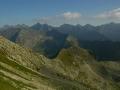 TATRY wycieczki - widoki z Orlej Perci