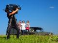 Celem reporterów TV Rzeszów tego dnia była relacja z festiwalu Natchnieni Bieszczadem w Cisnej.