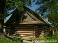 Przygoda w BIESZCZADACH - chyża - typowy dom bieszczadzkich jakich wiele w Smolniku