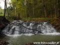 Przygoda w BIESZCZADACH - kaskady na potoku Olchowatym