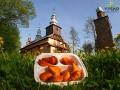 Regionalne pierożki z ziemniakami w większym opakowaniu do kupienia podczas wycieczki Traperska Przygoda.