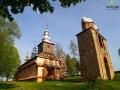 Cerkiew w Radoszycach przy której mieszka jeden z woźniców.