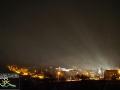 Na koniec jeszcze inne ujęcie z widokowej góry na bloki w Szczawnem znajdujące się w dolinie rzeki Osława, a przy drodze prowadzącej z Zagórza w stronę Komańczy.  PS. Pozostaje czekać nam do września na film...