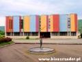 Przejeżdżamy obok Muzeum Endiego Warchola w Medzilaborcach.