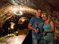 Młodzi właściciele jednej z piwnic, w której najczęściej organizujemy degustację win.