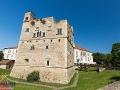 Zamek Rakoczego jest położony na brzegu rzeki Bodrog przepływającej przez Sarospatak w stronę Tokaju.