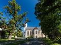 Kościół gotycki w Sarospatak.
