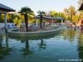 Baseny termalne z najgorętszymi wodami w Kąpielisku Parkowym Sosto Furdo.