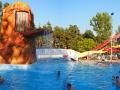 Zdjęcie panoramiczne na baseny w Sosto Furdo.