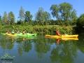 Kajaki na rzece San...