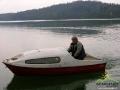 KRZYSZTOF BROS - jedna z legendarnych osób mieszkających nad samym jeziorem, którego dzieci dojeżdżały do szkoły na koniach!
