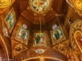 Wewnętrza część kopuły w cerkwi w Jasienicy Zamkowej.