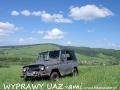 WYPRAWY UAZ-em Bieszczady - widok na dolinę rzeki Osława