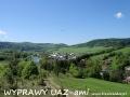 WYPRAWY UAZ-em Bieszczady - widok na Mokre (początek wycieczek)