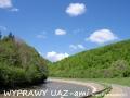 WYPRAWY UAZ-em Bieszczady - rezerwat Przełom Osławy nad Mokrem