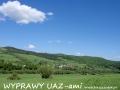 WYPRAWY UAZ-em Bieszczady - widok na dolinę rzeki Osława (Wysoczany)