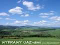 WYPRAWY UAZ-em Bieszczady - widok na Wysoczany