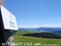 WYPRAWY UAZ-em Bieszczady - na szczycie z widokiem na połoniny