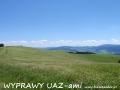 WYPRAWY UAZ-em Bieszczady - połoniny pogórzańskie