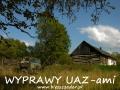 WYPRAWY UAZ-em Bieszczady - po pracy w lesie do domu