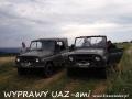 WYPRAWY UAZ-em Bieszczady - na Białej Górze w Kulasznem