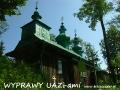 WYPRAWY UAZ-em Bieszczady - cerkiew w Szczawnem z 1888r.