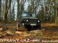 WYPRAWY UAZ-em Bieszczady - w lesie