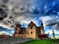 Ruiny klasztoru karmelitów bosych w Zagórzu artystycznie ;-)
