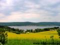 Widoki jadąc nad jeziorem Veľká Domaša - Wielka Domasa