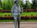 Pomnik Endiego Warhola w Medzilaborcach
