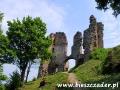 Brama prowadząca na zamek średni w Brekovie