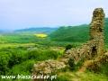 Jedna z wież zamku Brekov