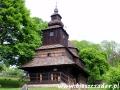 Cerkiew greckokatolicka św. Michała Archanioła z 1754 r. w skansenie w Humennem (warto wstąpić)