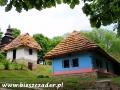 Chaty w skansenie w Humennem (polecamy zwiedzić)