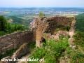 Widok z Zamku Jasenov na Humenne (warto się wspiąć!)