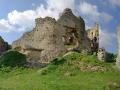 Ruiny Zamku Brekov panorama