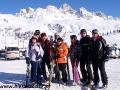 2010 luty, Narty WŁOCHY Val di Fassa - Passo San Pelegrino, Grupa z Rzeszowa