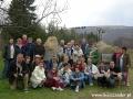 2005 kwiecień, BIESZCZADY przy szlaku na Połoninę Wetlińską, Grupa z Łodzi