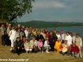 2007 maj, BIESZCZADY nad Zalewem Solińskim, Grupa z Bartoszyc