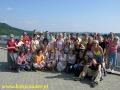 2006 czerwiec, BIESZCZADY na koronie zapory wodnej w Solinie, Grupa z Buska Zdroju