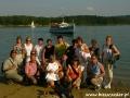 2007 sierpień, BIESZCZADY rejs statkiem po Zalewie Solińskim, Grupa z Giewartowa