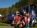 2006 październik, BIESZCZADY kolejka leśna, Grupa z Gorlic