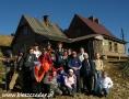 2006 październik, BIESZCZADY schronisko Chatka Puchatka na 1228m, Grupa z Gorlic