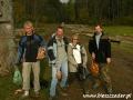 2007 październik, BIESZCZADY zbiory rydzów wracając z Jeziorek Duszatyńskich, Grupa z Jaworzna
