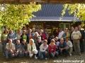 2007 wrzesień, BIESZCZADY przed pracownią ikon w Cisnej, Grupa z Jaworzna