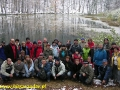 2007 październik, BIESZCZADY pierwszy śnieg nad Jeziorkami Duszatyńskimi, Grupa z Jaworzna