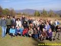 2010 październik, BIESZCZADY, na szlaku przy schronisku Pod Małą Rawką, Grupa z Jaworzna