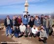 2010 październik, BIESZCZADY na szczycie Małej Rawki 1249, Grupa z Jaworzna