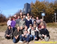 2010 październik, BIESZCZADY - Kremenaros 1222m (styk granic Polski, Słowacji i Ukrainy!), Grupa z Jaworzna
